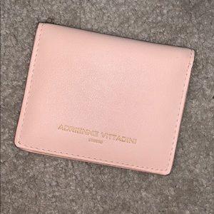 Blush pink wallet
